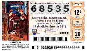 Loteria Navidad 68535