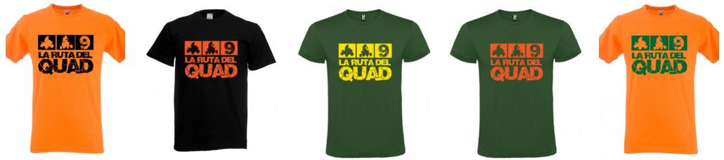camisetas la ruta del quad