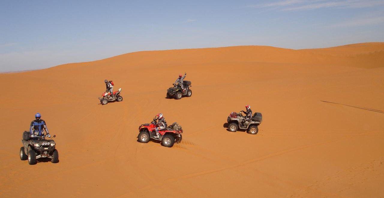 marruecos en quad