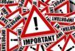 Actividades suspendidas por alarma nacional