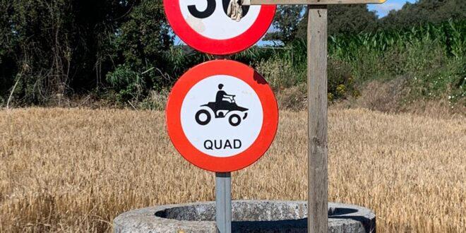 Esta señal puede no ser legal, ni aparece en la DGT